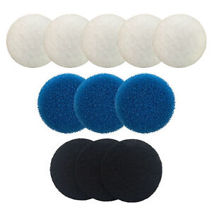 Compatible Eheim Classic Filter Foams for 2213 / 2215 and 2217 Poly Carbon