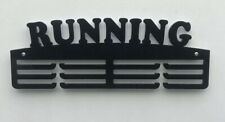 Thick Acrylic Triple Tier 5mm RUNNING Medal Hanger with acrylic spacers