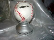 Baseball on stand piggy bank - All Star -Yesterday's ballgame collection - New