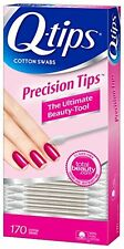 Q-Tips Precision Tips Cotton Swabs Ultimate Beauty Tool 170 Cotton Swabs