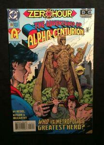 """DC Zero Hour """"Adventures of Superman"""" """"Alpha-Centurion"""" #516 Sept.1994 9.0VF/NM"""