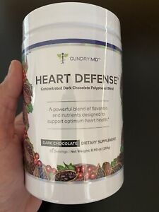 Heart Defense Concentrated Dark Chocolate Polyphenol Blend; Gundry MD