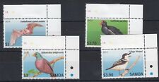 Samoa 2013 Birds/Bat Margin High Values MNH J202