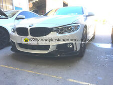 BMW 4 series f32 M style carbon fiber front lip for M performance spoiler wing