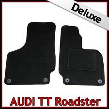 Audi TT Roadster Mk2 2006-2014 Tailored LUXURY 1300g Carpet Car Floor Mats BLACK
