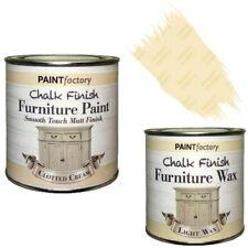 Paint Factory craie Crayeux MEUBLE PEINTURE 250ML caillée Crème + 0.2L