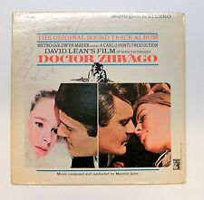 Maurice Jarre *Autographed* LP Doctor Zhivago ~ O.S.T. 1965 Gatefold MGM S1E-6ST