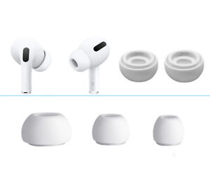 6 x Replacement Silicone Ear Tips Buds Cover For Apple Airpods Pro 3 (S/M/L)