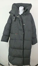 Khujo #35032 Juliett Mantel Jacke Damen Mantel Winter Steppmantel Gr. M Schwarz