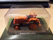0 Gauge 1.43 Renault D22 Tractor  1956 Hachette Universal Hobbies