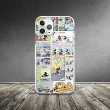 Vintage Retro Mickey Mouse Comics Case For iPhone XR 11 Pro Xs Max X 8 7 6 6s