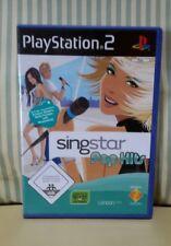 SingStar: Pop Hits - Sony PlayStation 2 - PAL Version - German Deutsch