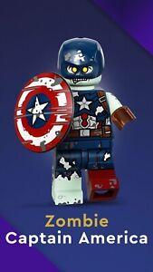 LEGO 71031 Marvel Studios Minifigures No. 9 - Zombie Captain America New Sealed