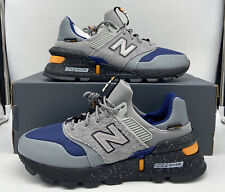 New Balance 997 Sport Mens Running Shoes Grey Black Blue MS997SC Size