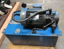 HYDRAULIC POWER UNIT, REMOVED FROM FEMCO LATHE WNCL-35