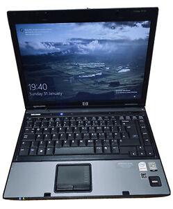 """Hp Compaq 6510b Core 2 duo T7250  14.1"""" Laptop 2.0Ghz 3GB/250GB HDD Win-10 Pro"""
