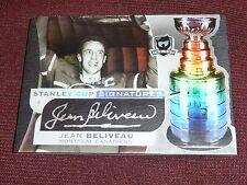 08-09 The Cup Jean Beliveau 36/50 Stanley Cup Signatures Autograph AUTO