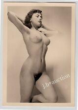 #553 RÖSSLER AKTFOTO / NUDE WOMAN STUDY * Vintage 1950s Studio Photo - no PC !