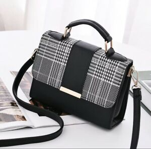 Women's Cute Fashion Handbag Black 2020 New Style Beautiful Purse in Mini Size