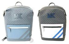 Michael Kors Mens Cooper Top Zip Leather Signature PVC Backpack Bag