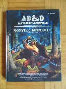 Monster Handbuch II - AD&D 1983 Fantasy Rollenspiele Advanced Dungeons&Dragons