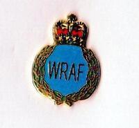 Enamel Lapel Badge WOMEN'S ROYAL AIR FORCE (WRAF)