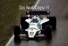 Mauro Baldi Spirit 101 San Marino Grand Prix 1984 Photograph 2