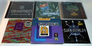 7 x SHAMEN CD BUNDLE (3 ALBUMS 4 SINGLES) EN-TACT BOSS DRUM AXIS MUTATIS