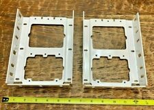 "1 Set of (2) Somfy 400  RS-WT1  7"" Fascia Brackets White"