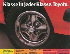 Toyota Prospekt 6 78 brochure 1978 Celica Cressida Corona Auto PKWs Japan Asien