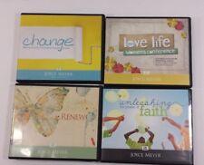 Joyce Meyer Audio Cds Renew Change Unleashing the Power of Faith & Conference