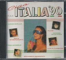 V/A - Ciao Italia '90 CD Album 18TR (EVA) HOLLAND Eros Alice Toto Cutugno Pupo