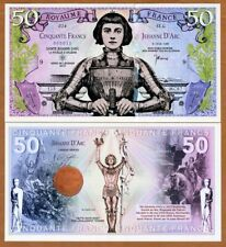 France, 50 francs, Private Issue Polymer, 2019 > Joan of Arc