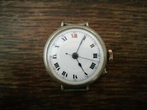 Vintage centre second trench watch.