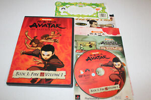 Avatar The Last Airbender Book 3: Fire - Vol. 1 (DVD 2007) Nickelodeon