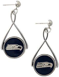 NFL Seattle Seahawks Tear Drop Earrings