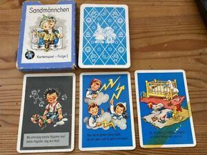Sandmännchen Kartenspiel - Folge 1  - schwarzer Peter   -  Verlag VEB