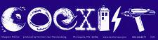 Science Fiction Coexist - Bumper Sticker / Decal