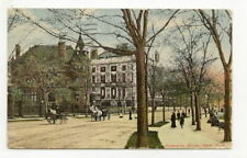 NYC NY Riverside Drive People Horse & Buggy Antique PC