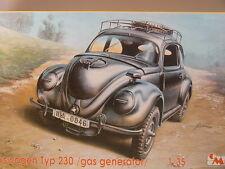 Volkswagen Typ 230 mit Holzvergaser  - CMK Bausatz 1:35 - 35017 #E