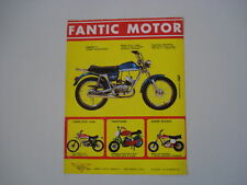advertising Pubblicità 1972 MOTO FANTIC TI 50