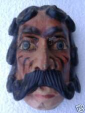 HAND CARVED WOODEN  CEREMONIAL MASK   M9724