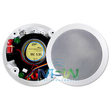 "PBX PowerBass® HOME AUDIO MC-5.2C 5.25"" 2-Way CINEMA THEATER IN-CEILING SPEAKERS"