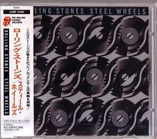 "ROLLING STONES ""Steel Wheels"" Japan CD + Obi Rare"