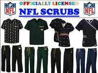 NFL SCRUB TOP-NFL SCRUB PANTS-NFL SCRUBS-ALL TEAMS-NFL FOOTBALL SCRUBS-S-W TEAMS