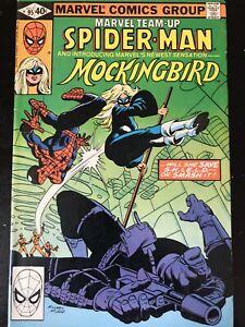MARVEL TEAM-UP #95 JUL 1980 VG - SPIDER-MAN AND 1ST APPEARANCE MOCKINGBIRD
