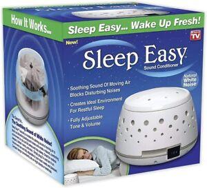 Sleep Easy Sound Conditioner, White Noise Machine 1 Pack