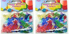 2 Piezas Cool Divertido Confetti de fiesta feliz cumpleaños Decoración