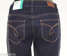 Esprit Damen Jeans Gr. W27 L34 Blau Denim Bootcut Leg Jambes High Rise NEU