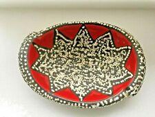 grande coupe à fruits  vallauris année 50/60 vintage  décor d'étoile